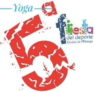 Yoga en la Fiesta del Deporte del Ayto. de Málaga (27 de mayo de 2017)