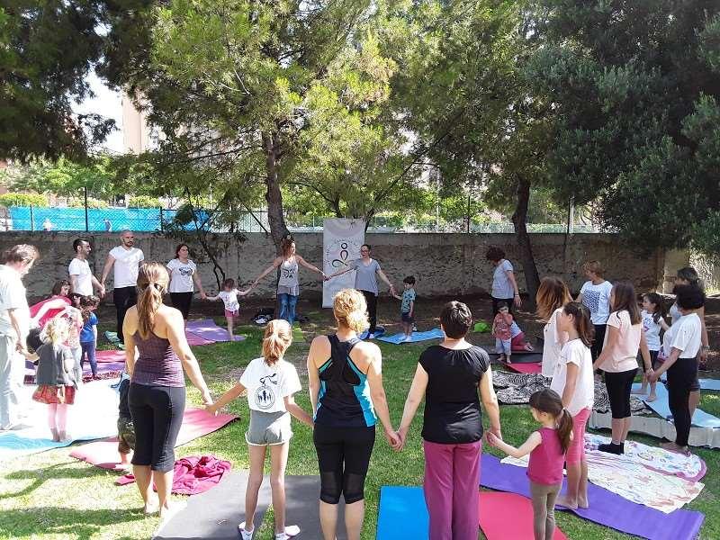La Noria promueve el yoga como instrumento de inclusión social con talleres en la Fiesta del Deporte