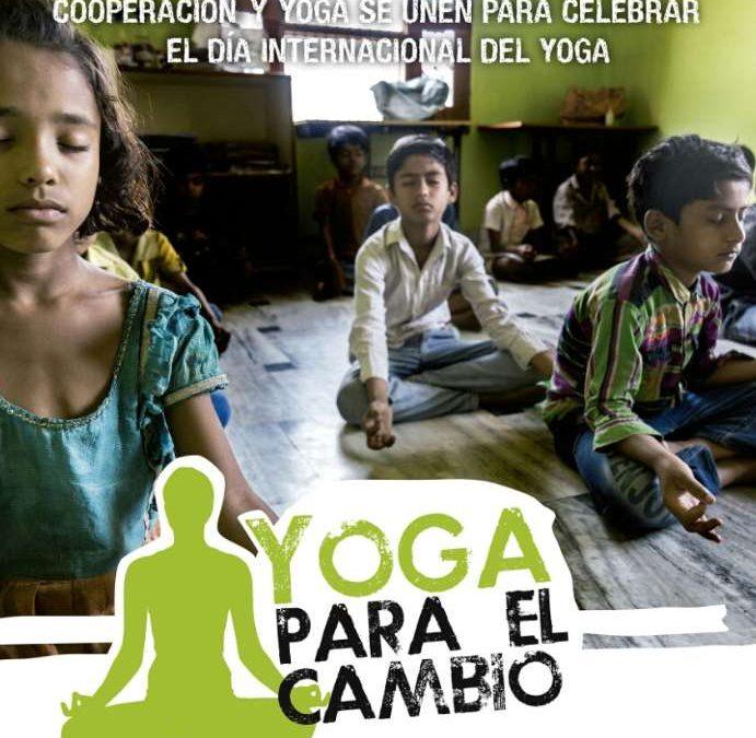 Día Internacional del Yoga en Córdoba, Andalucía.