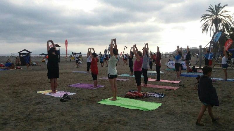 Exito y datos del Yoga en la Fiesta del Deporte, IAYoga, al servicio de la ciudadanía por la difusión del Yoga
