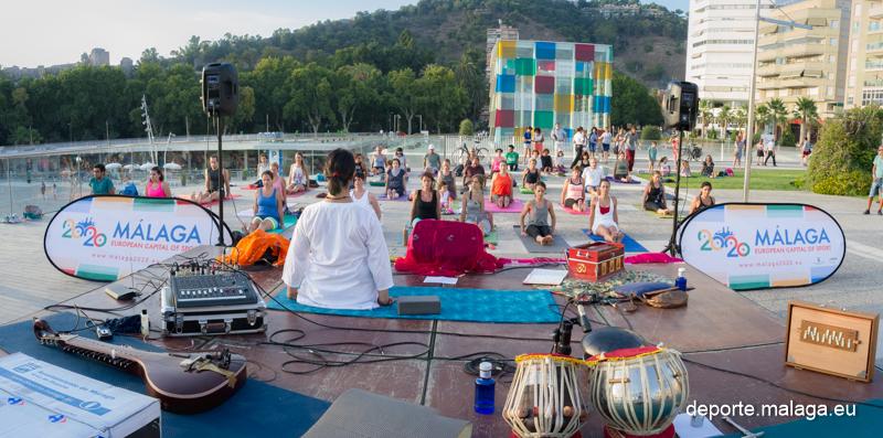 Yoga en el Deporte en la Feria el 4 de agosto en el Muelle Uno presenta Enrique Moya