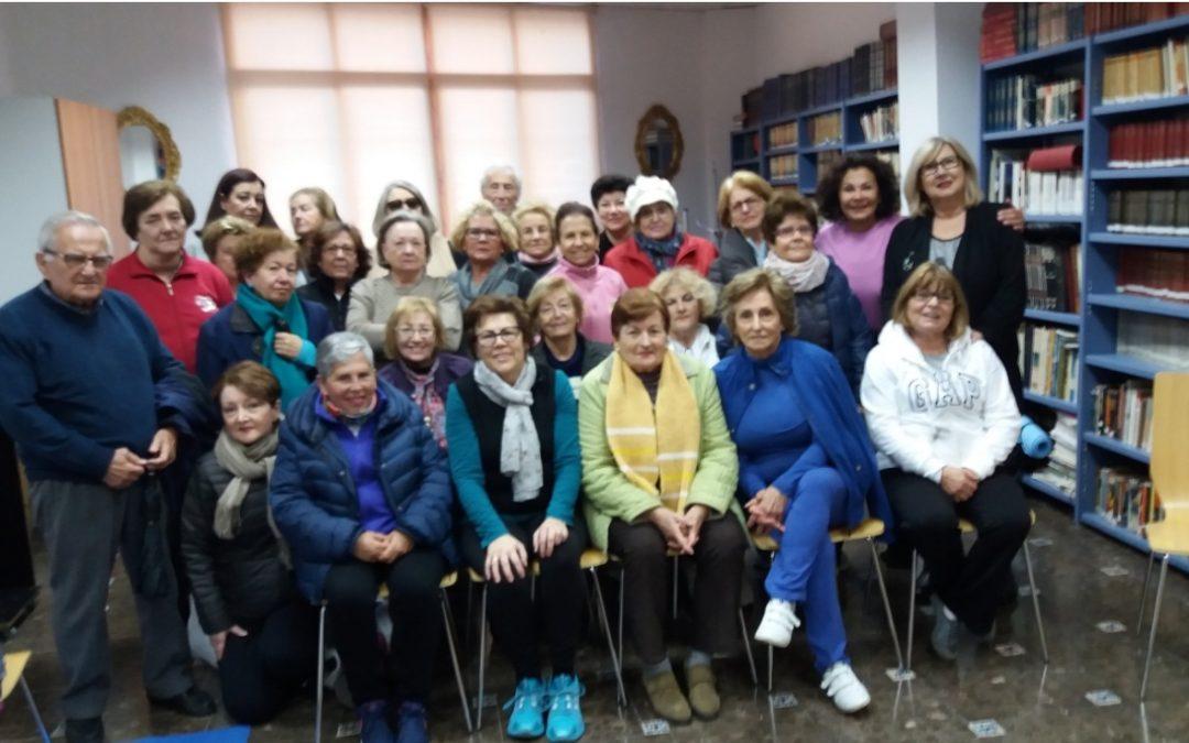 Compromiso Social del Instituto Andaluz del Yoga en Málaga: 2ª fase del ciclo de Yoga para mayores, personas con fibromialgias o con movilidad reducida.
