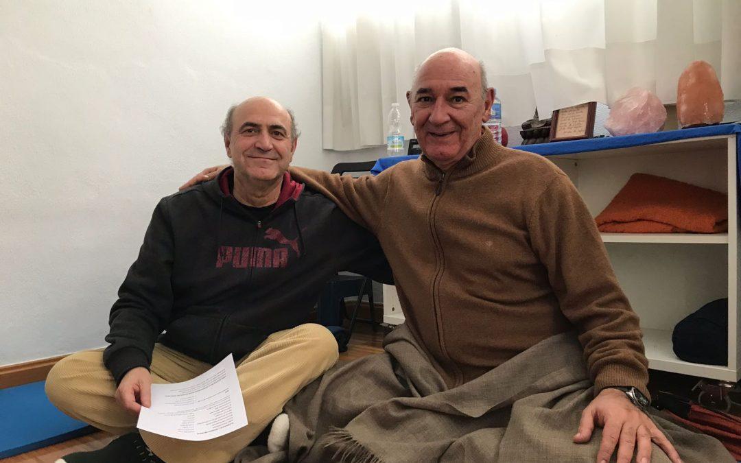 """Seminario Formativo, Danilo Hernández y Dr. Reque: """"II Aspectos anatómicos y fisiológicos en el Yoga, y compendio histórico y filosófico del yoga"""" 2, 3 Junio"""