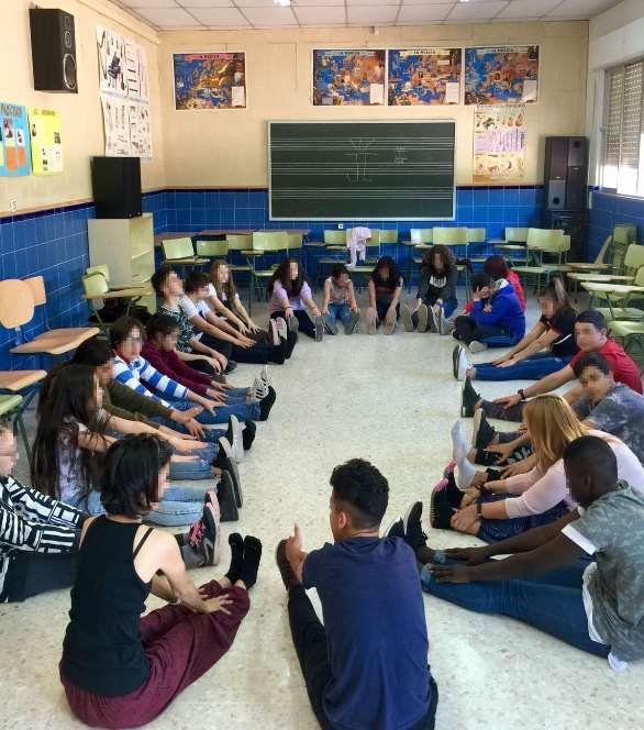 Yoga en la Escuela: Maravillas del yoga. Actividades piloto de yoga en el IES Ntra. Sra. de la Victoria, Málaga