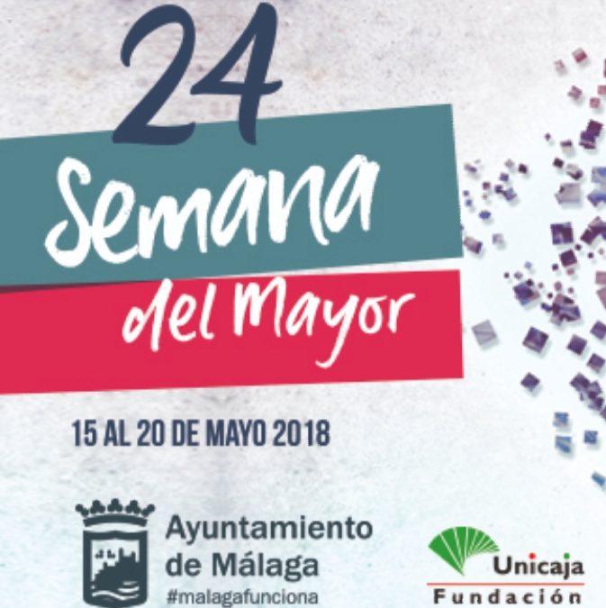 """En Prensa: """"Más de 3.000 personas participarán en la Semana del Mayor que se celebra esta semana en Málaga capital. El Instituto Andaluz del Yoga, organizará una clase de yoga para mayores al inicio de la jornada."""""""