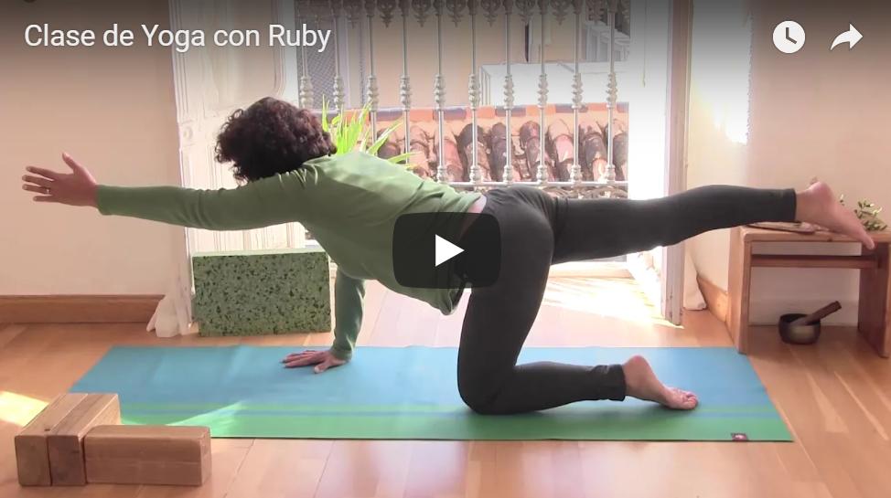 Clase de Yoga con Ruby.
