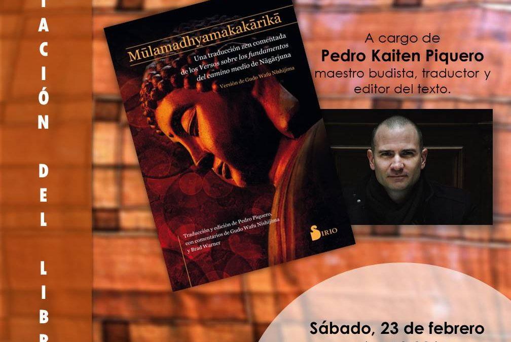 Hoy 16/01/2019 entrevistan a Pedro Piquero en el programa EL OJO CRITICO de RNE a las 18:15 sobre Nagarjuna. Próximamente presentación de su libro en Málaga con la colaboración del IAYoga