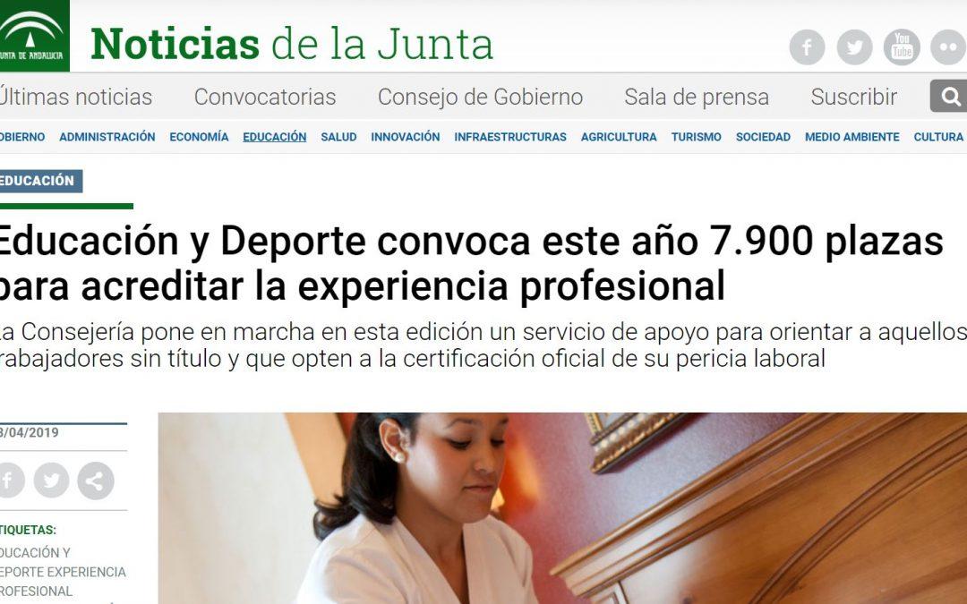 ¿Existen todavía esperanzas de una convocatoria de Instrucción en Yoga en el Acredita 2019 de la Junta de Andalucía?