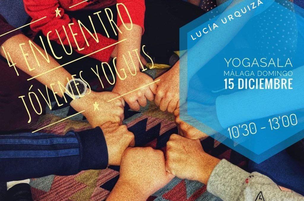 4º Encuentro Challenge de Jóvenes Yoguis domingo 15 de diciembre 10'30 de la mañana YogaSala Málaga.
