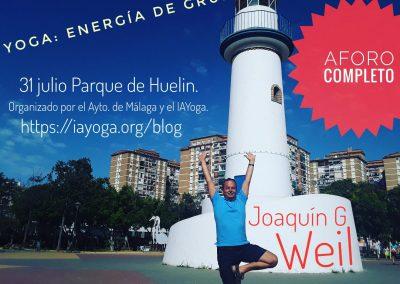 07 Yoga IAYoga Área Deporte Ayuntamiento de Málaga 2020 Verano Deportivo