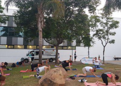 05 Yoga IAYoga Área Deporte Ayuntamiento de Málaga 2020 Verano Deportivo