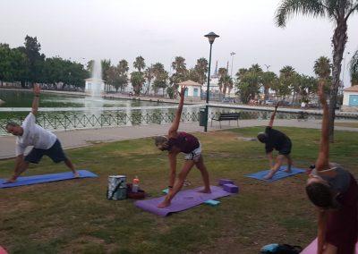 02 Yoga IAYoga Área Deporte Ayuntamiento de Málaga 2020 Verano Deportivo