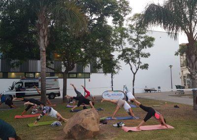 01 Yoga IAYoga Área Deporte Ayuntamiento de Málaga 2020 Verano Deportivo