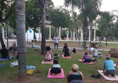08 Yoga IAYoga Área Deporte Ayuntamiento de Málaga 2020 Verano Deportivo