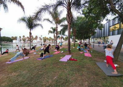 03 Yoga IAYoga Área Deporte Ayuntamiento de Málaga 2020 Verano Deportivo