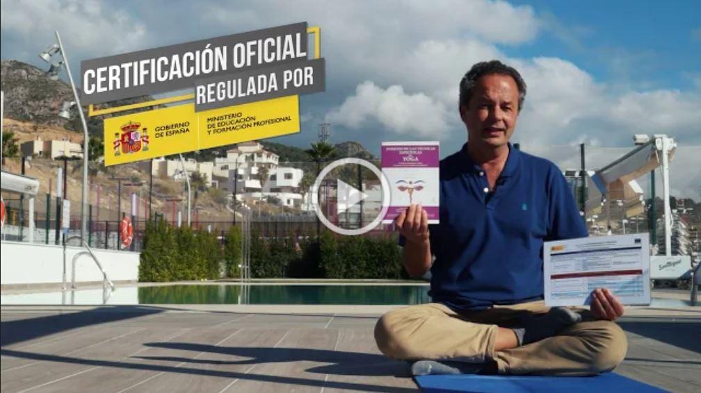 Vídeo: Certificado Profesionalidad Yoga. EADE-IAYoga. Titulación Oficial Junta de Andalucía.
