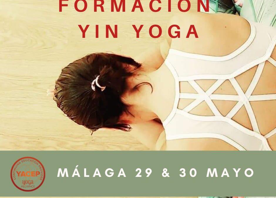 Formación en Yin Yoga 30 horas YACEP, Dto. del 10% para socios del IAYOGA.