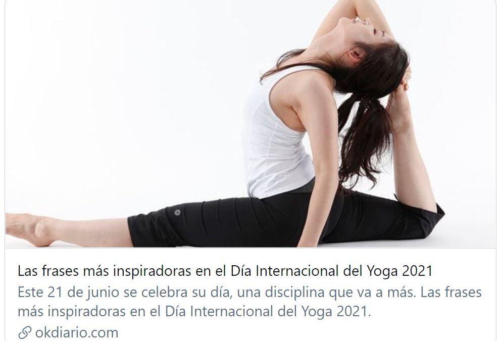 Las frases más inspiradoras en el Día Internacional del Yoga 2021