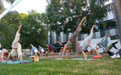 """""""Yoga: respira salud"""" Verano Deportivo 2021, gracias por vuestra participación, buena energía y hermosa presencia. Nos vemos en la próxima."""