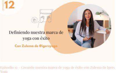 """Gracias por mencionar nuestro libro, a @igersyoga y @unayoguienlavidamoderna en el Podcast """"Creando nuestra marca de yoga de éxito"""""""