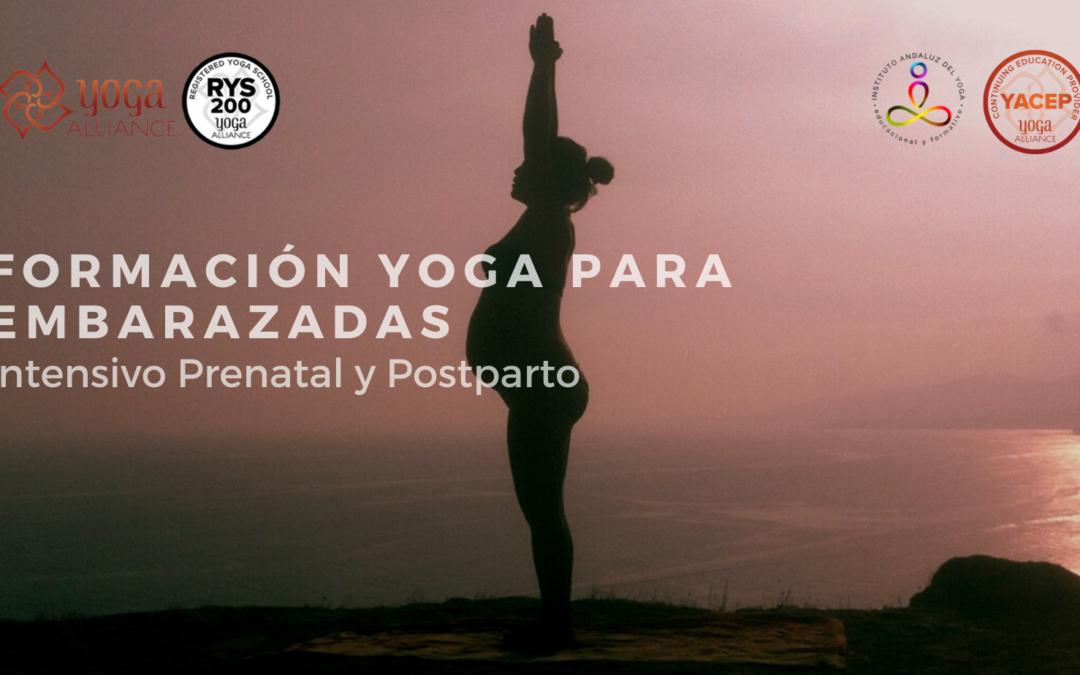 Formación en Yoga para Embarazadas. 25 horas Yoga Alliance. Dto. del 10% para socios del IAYOGA